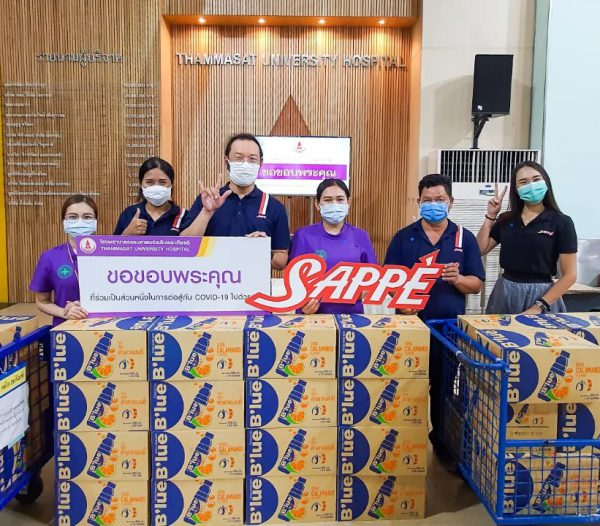 """เซ็ปเป้ร่วมกับโครงการ """"Food for fighters"""" ส่งอาหารให้กับบุคลากรทางการแพทย์ในการต่อสู้กับ COVID-19"""